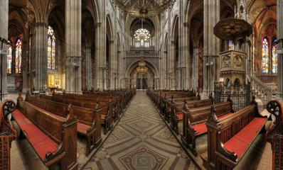 Votivkirche in Wien  sssterreich  Europa