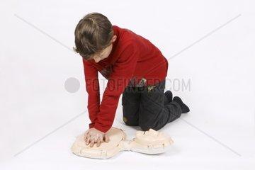 Erste Hilfe Kurs  Herzmassage