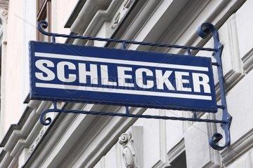Drogeriemarktfiliale Schlecker