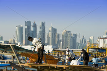 Qatar  Doha  immigrant workers