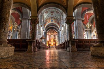 Basilika der Mutter der Barmherzigkeit  Fraziskanerkirche  Maribor  Slovenien  Europa