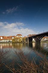 Stadtteil Lent am Ufer der Drau  Maribor  Slowenien  Europa
