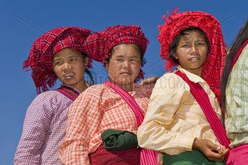 Myanmar  Inle lake  Pa O women tribe