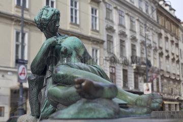 Donnerbrunnen Providentiabrunnen   Neuer Markt  Innere Stadt  Wien  Oesterreich  Europa