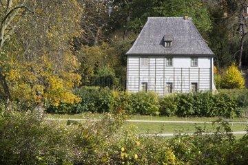 Goethes Gartenhaus im Park an der Ilm  UNESCO Weltkulturerbe  Weimar  Thss ringen  Deutschland  Europa