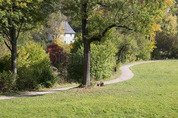 Goethes Gartenhaus im Park an der Ilm  UNESCO Weltkulturerbe  Weimar  Thueringen  Deutschland  Europa