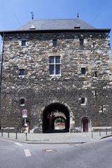 Ponttor  Stadttor  aeusserer Ring der Stadtmauer  Aachen  Nordrhein Westfalen  Deutschland  Europa