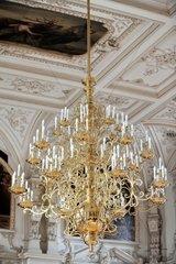 Kronleuchter im Oldenburger Schloss  fotografiert am Donnerstag  12.07.2012.