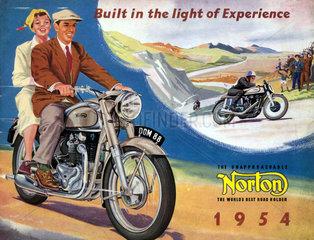 britisches Motorrad  Norton Dominator  1954