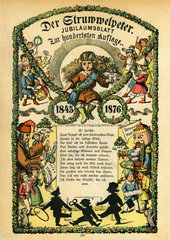 Struwwelpeter  Jubilaeumsblatt 1876