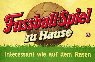 Fussballspiel  1952