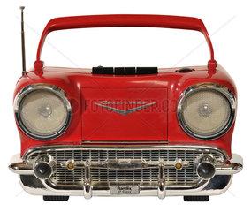 tragbares Radio in Form eines 1957er Chevrolet  1988