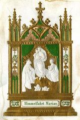 Mariae Himmelfahrt  Wandbild  1890