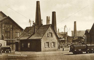 Krupp Stammhaus Essen  um 1900
