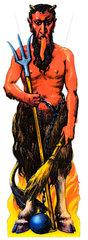 Krampus  Teufel  um 1929