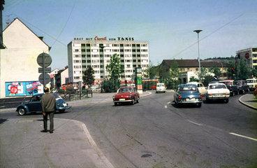 Alltag  Strassenverkehr  Heilbronn  1963