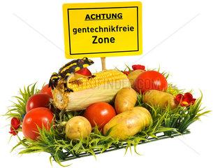 Symbolfoto Gentechnikfreie Zone