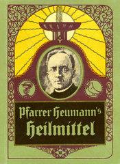 Pfarrer Heumanns Heilmittel  Broschuere  1928