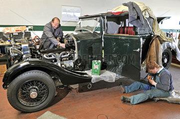 David Bayley Jones restauriert seinen Rolls-Royce 20/25 von 1933