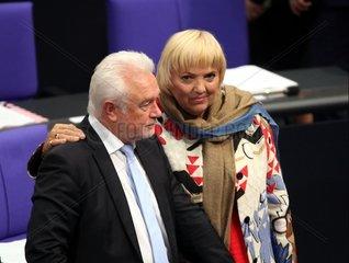 Wolfgang Kubicki und Claudia Roth