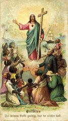 katholische Missionierung der Heiden in Afrika  um 1880