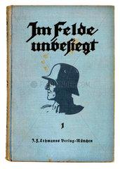 Im Felde unbesiegt  Buch  1923  Dolchstosslegende