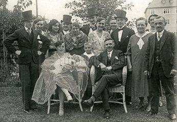 Kindstaufe  Familientreffen  1932