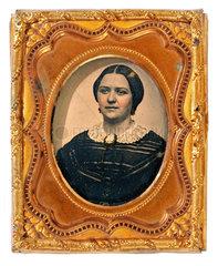 Frauenportraet  New York  1860