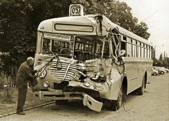 Busunfall Muenchen  August 1962