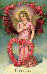 Symbol christliche Liebe  1908
