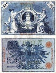 100 Mark Schein 1908