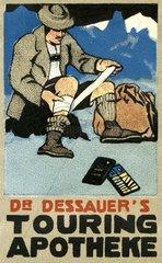 verletzter Bergsteiger 1911