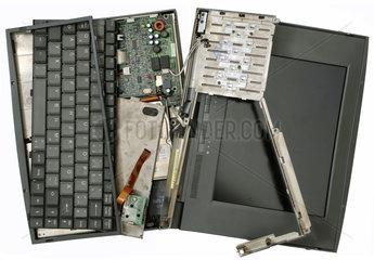 kaputtes Notebook
