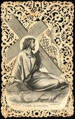 Jesus traegt das Kreuz  1870
