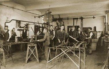 Schmiede um 1910