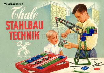 Metallbaukasten  DDR  um 1955