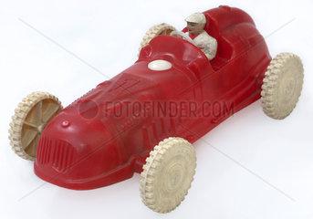 alter Rennwagen  Spielzeug  um 1955