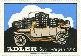 Adler Sportwagen 1912