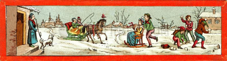 Winter  um 1875