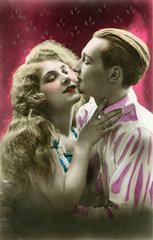Liebespaar  Italien  1925