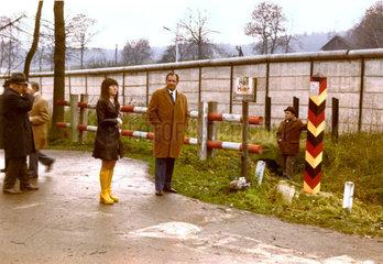 Grenze zur DDR  Zonengrenze  um 1970