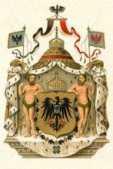 Grosses Kaiserwappen  um 1898