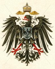 Deutscher Reichsadler  um 1898