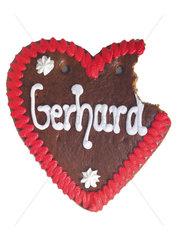 Lebkuchenherz Gerhard