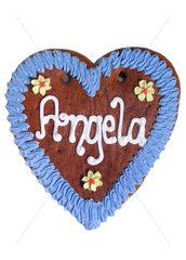 Lebkuchenherz Angela