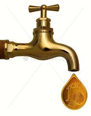 Geldhahn  Cent  Symbol