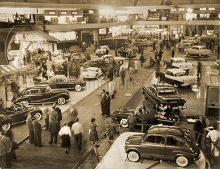 Internationale Automobilausstellung  Frankfurt  1955