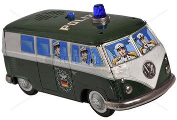 VW-Bulli  Polizeifahrzeug  1956