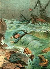 Schiffbruechiger  um 1895