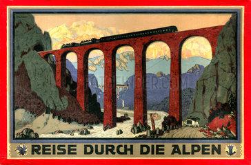 Reise durch die Alpen  Spiel  1909